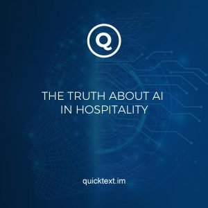 AI in hospitality: the truth behind the buzz