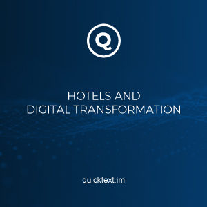 Hotels and digital transformation