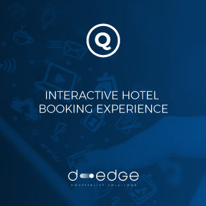 Quicktext and D-EDGE partnership: Interactive Hotel Booking Experience