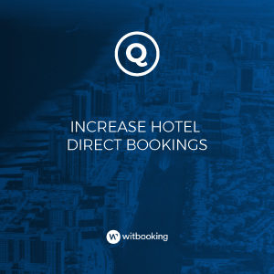 quicktext and witbooking partnership chatbots AI hotels