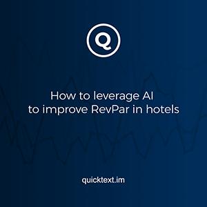 Cómo los hoteles usan la IA para aumentar su RevPAR