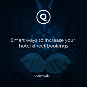 Smart ways to increase your hotel direct bookings