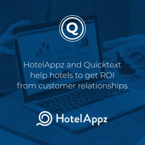 HotelAppz and Quicktext