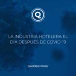 La industria hotelera el día después de COVID-19
