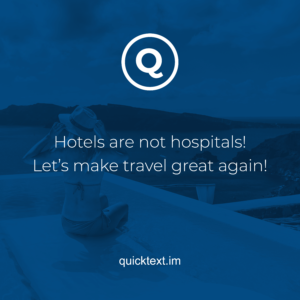 How to make your guests visit your hotel after COVID-19 ?