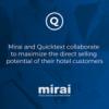 Mirai and Quicktext