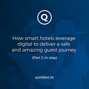 Leverage digital hotel tech