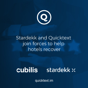 Stardekk and Quicktext join forces to help hotels recover