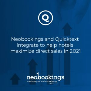 Neobookings and Quicktext announce strategic partnership