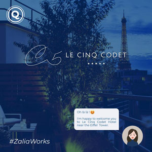 AI Chatbot for 5 star hotel in Paris