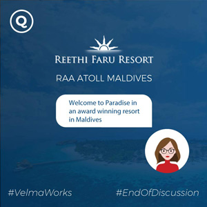 AI chatbot for resort in Maldives