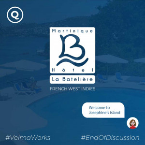 AI chatbot for hotel in Martinique