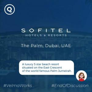 Ai chabot for luxury hotel in Dubai