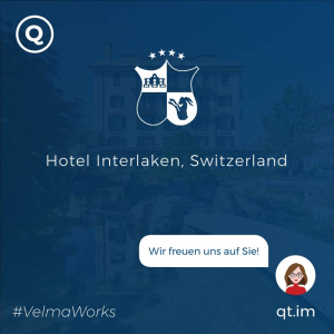 AI Chatbot for hotel in Switzerland