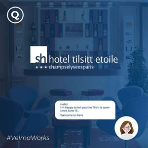AI chatbot for hotel in Paris
